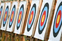 De doelstellingen van het boogschieten Royalty-vrije Stock Afbeelding