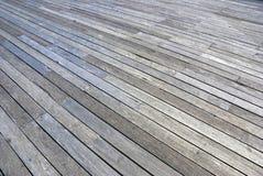 De dokken van het de vloerperspectief van de plank royalty-vrije stock foto's