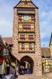 De Dolder-Toren in Riquewihr Royalty-vrije Stock Fotografie