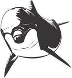 De Dolfijn van Bottlenose vector illustratie