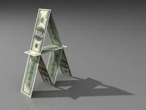 De dollar brengt onder Royalty-vrije Stock Fotografie