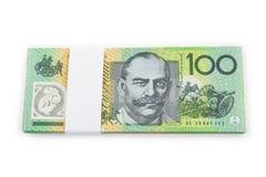 De Dollar van Australië Stock Foto