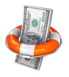 De dollar van de besparing Stock Fotografie