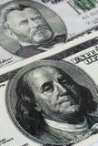 De dollar van de honderd V.S. Stock Afbeeldingen