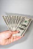 De dollar van de V Royalty-vrije Stock Afbeelding