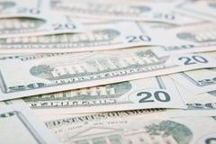 De dollar van de V.S. Royalty-vrije Stock Afbeeldingen