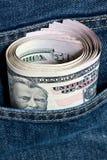 De Dollar van de V.S. Stock Foto