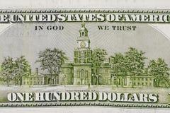 De Dollar van de V.S. Royalty-vrije Stock Fotografie