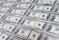 De dollar van de V.S. honderd Stock Foto