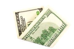 De dollar van het geld Royalty-vrije Stock Foto's