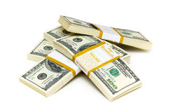 De dollar van het tienduizend Royalty-vrije Stock Afbeeldingen