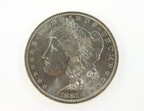 De dollar van Morgan Stock Afbeeldingen