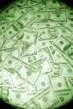 De dollarachtergrond van de V.S. Stock Foto's