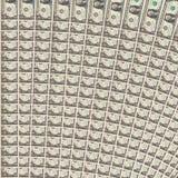 De Dollarachtergrond van de V.S. Royalty-vrije Stock Foto