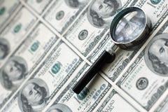 De dollarachtergrond van Verenigde Staten Royalty-vrije Stock Afbeeldingen