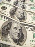 De dollarbankbiljetten van de V.S. Royalty-vrije Stock Afbeeldingen