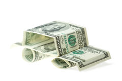 De dollars van de auto Stock Fotografie