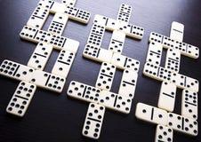 De dollars van de domino Stock Foto
