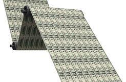 De dollars van de druk Stock Afbeeldingen