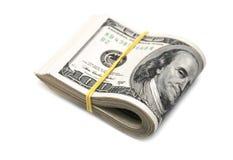 De dollars van de V stock afbeeldingen