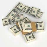 De dollars van de V stock illustratie