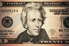 De dollars van de V Royalty-vrije Stock Fotografie