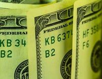 De dollars van de V Stock Fotografie