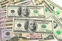 De Dollars van de V.S. Royalty-vrije Stock Afbeeldingen