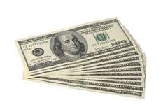 De Dollars van de V.S. Stock Afbeeldingen