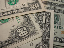 De Dollars van de V.S. Stock Foto