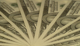 De dollars van de ventilator Royalty-vrije Stock Foto
