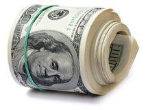 De dollars van het broodje. Stock Afbeeldingen