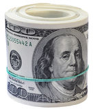 De dollars van het broodje. Stock Afbeelding
