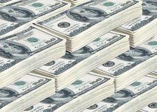De dollars van miljoenen Stock Foto's
