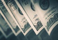 De dollars van Verenigde Staten Stock Afbeeldingen