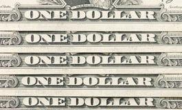 De dollarsachtergrond van de V.S. Stock Fotografie