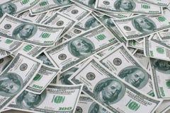 De dollarsachtergrond van het geld Royalty-vrije Stock Afbeelding