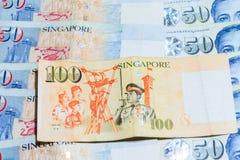 De Dollarsnota van Singapore Royalty-vrije Stock Fotografie
