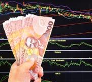 De dollarsrekening van Nieuw Zeeland Royalty-vrije Stock Foto