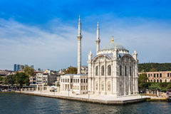 De Dolmabahce-Moskee Royalty-vrije Stock Afbeelding
