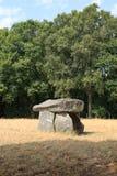 De Dolmen van Bagnol in Limousin, Frankrijk Royalty-vrije Stock Foto