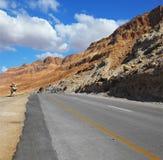 De dolmen van de steen op de kant van de weg Stock Fotografie