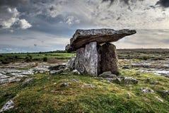 De dolmen van Poulnabrone Royalty-vrije Stock Afbeeldingen
