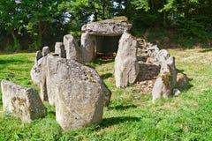 De Dolmen van Prehistiric in Normandië Royalty-vrije Stock Foto's