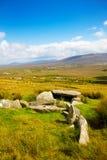 De dolmen van Slievemore Stock Foto's