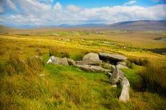 De dolmen van Slievemore Royalty-vrije Stock Afbeelding