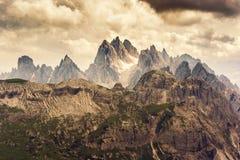 De Dolomietbergen Stock Foto