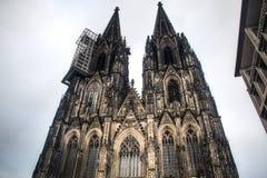De Dom kathedraal in Keulen, Duitsland Stock Afbeelding