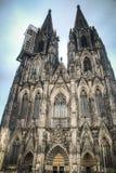 De Dom kathedraal in Keulen, Duitsland Stock Foto's