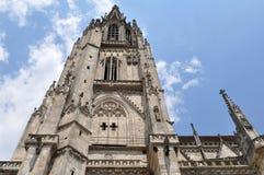 De dom-kathedraal van Regensburg, Duitsland (de plaats van Unesco) Stock Afbeelding
